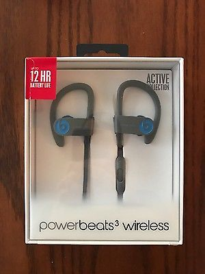 Beats by Dr. Dre Powerbeats3 Wireless Ear-Hook Headphones - Flash Blue https://t.co/5sLqXXYM3x https://t.co/gyr8DFzPwz