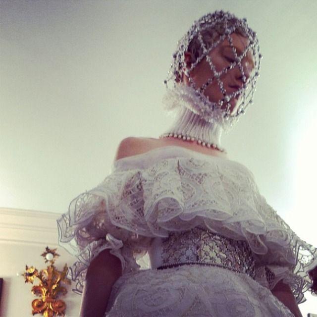 Paris Womenswear A/W 2013 Alexander McQueen