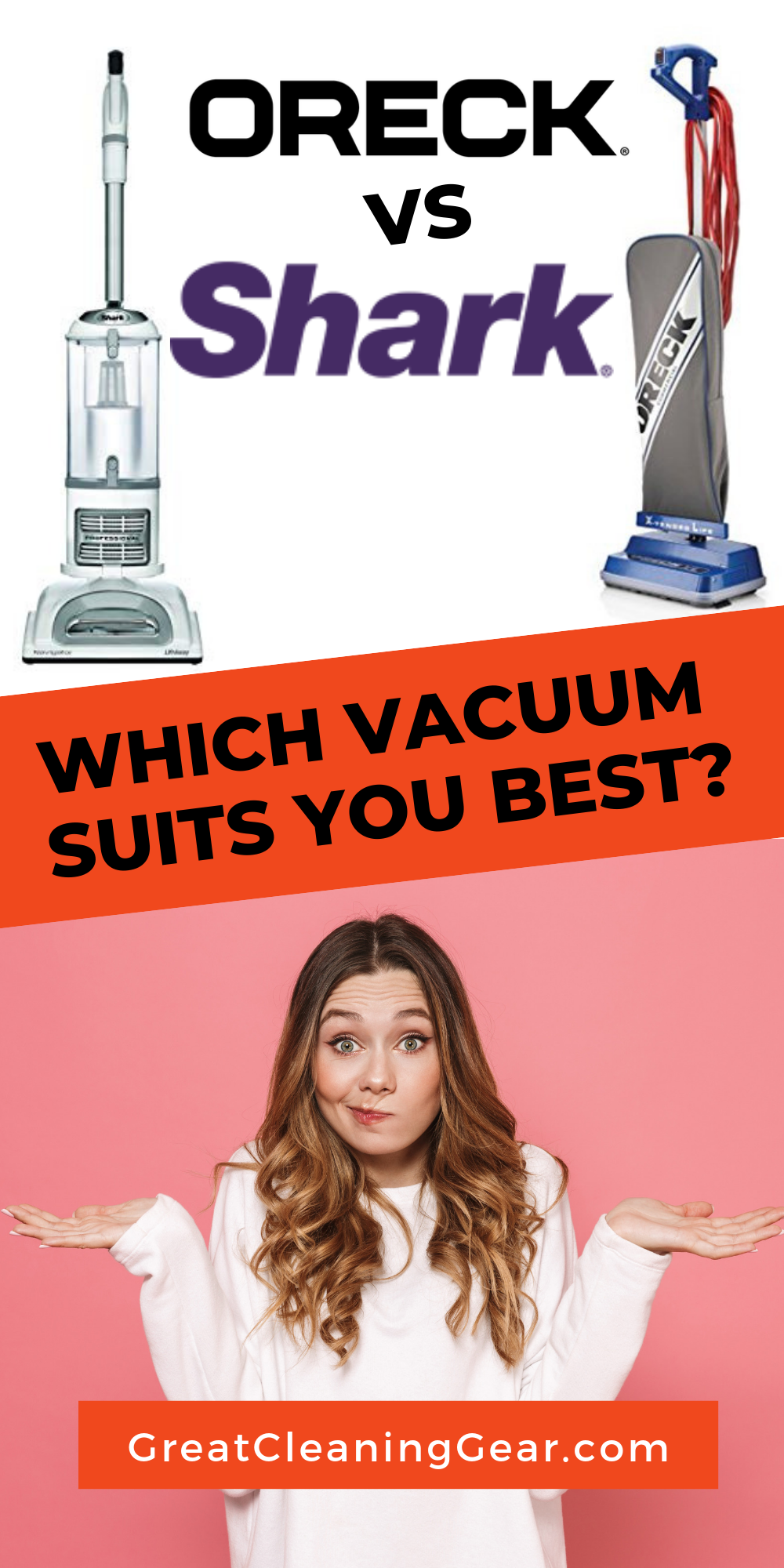 Oreck or Shark Vacuum Which Is Really Better? Shark
