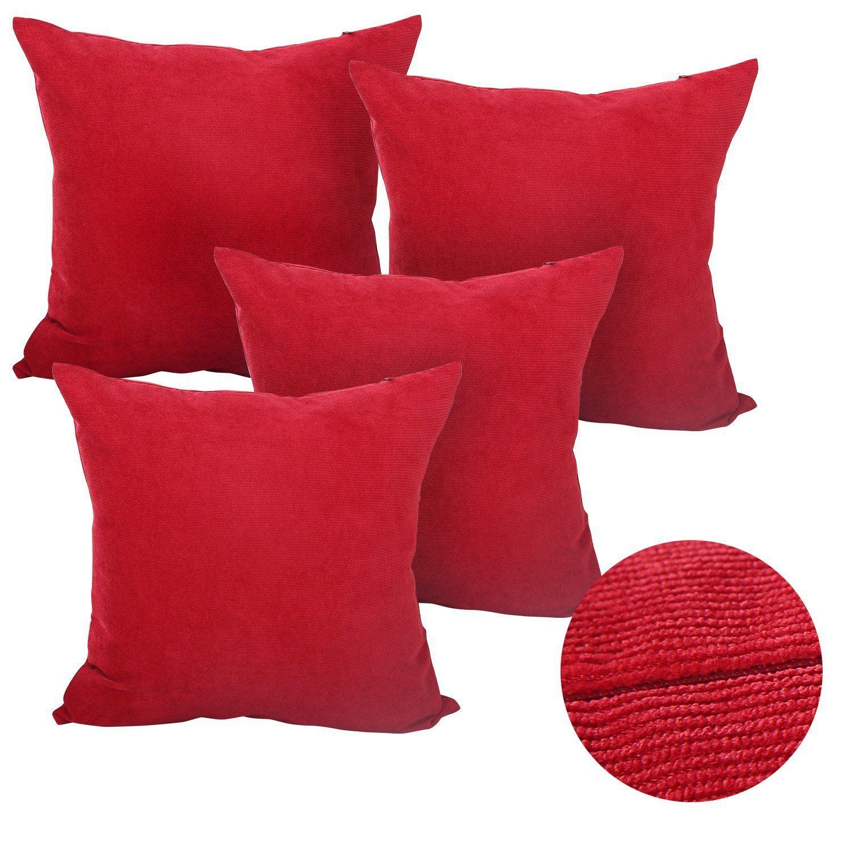 Deconovo corduroy square christama cushion covers home decorative
