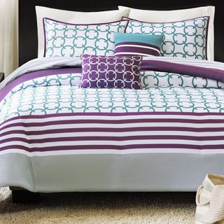 intelligent design lexie 3 piece coverlet set projects to try purple bedding teal comforter. Black Bedroom Furniture Sets. Home Design Ideas