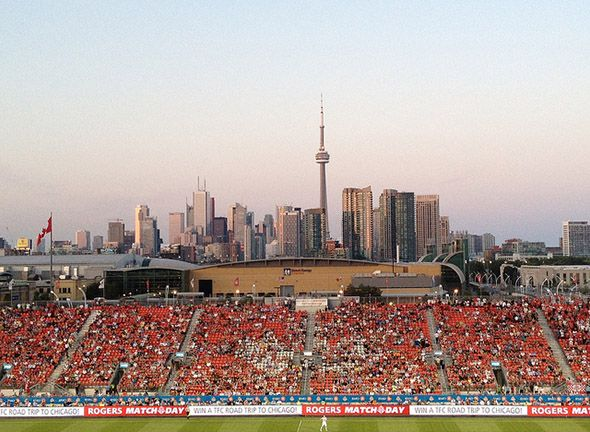 Can't believe only 17 days till #TFC home game - Let's go you Reds! BMO Field - photo by sandifjm