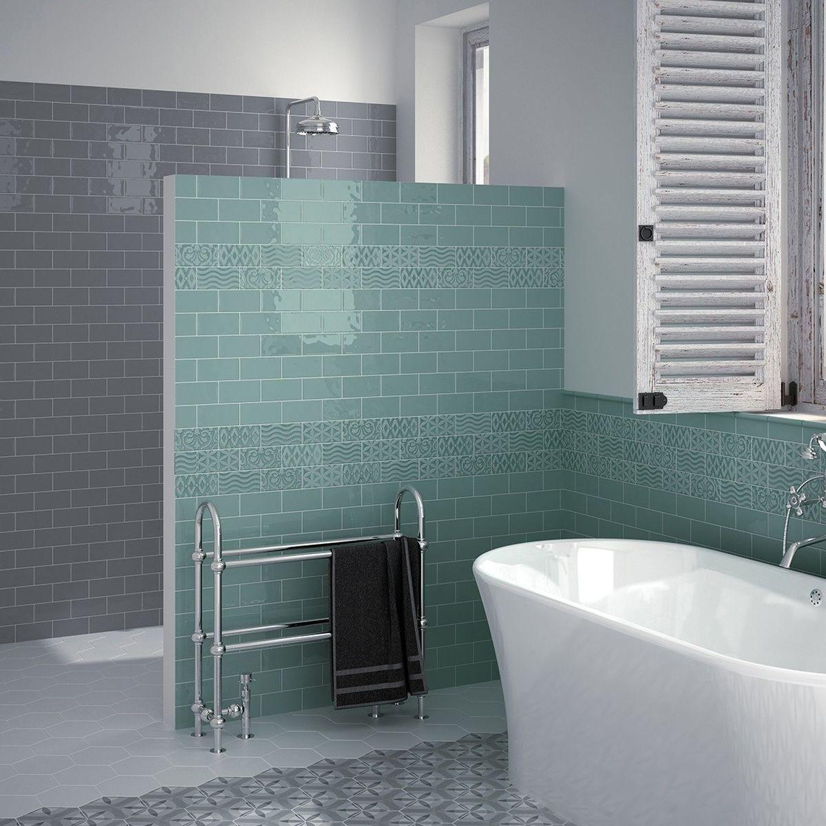 brick jade  tileflair  brick tiles bathroom bathroom