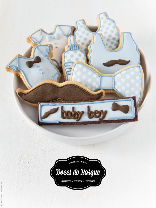 Mr. Baby Boy Cookies
