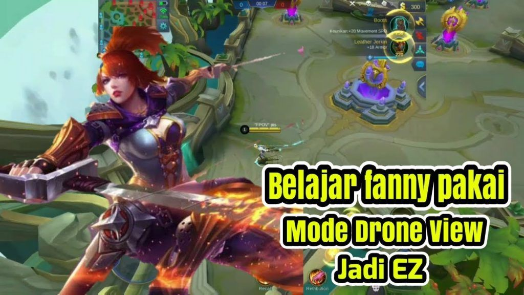 Tutorial Cara Drone View Mobile Legends Tutorial Android