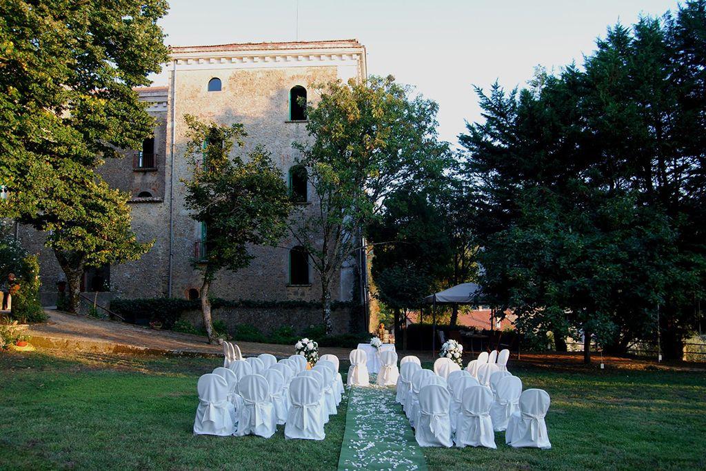 With views of Capri and the Amalfi coast, 'Tenuta il Pilaccio nel Cliento' ticks all of the boxes for couples considering an Italian Villa wedding in the rich region of Campania