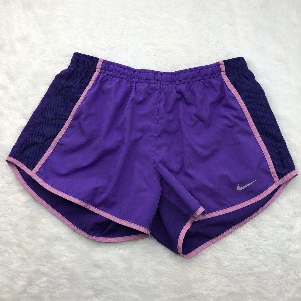 Nike Shorts Womens Medium Purple Set The Pace Running