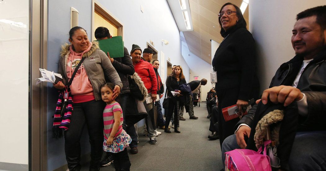 Immigrant New Yorkers Clamor for IDs, Swamping Mayor's Key Project: http://ow.ly/ILyD6 #immigrationreform #DACA