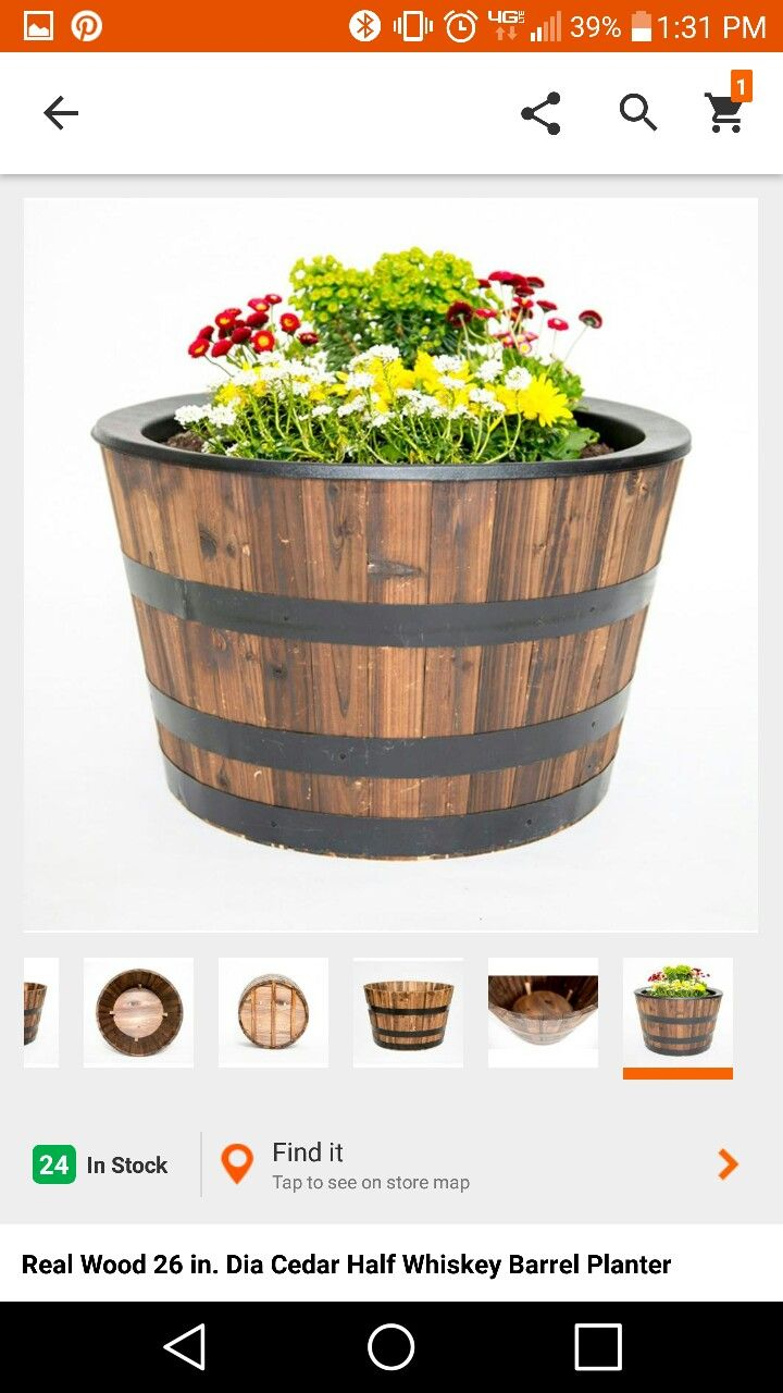 Pin by pravin on home exterior barrel planter whiskey
