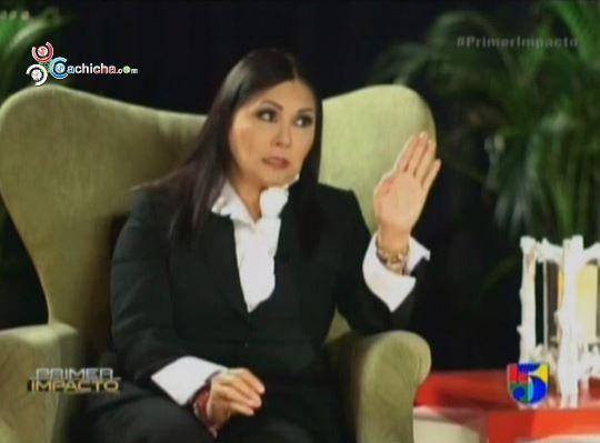 Entrevista En Exclusiva A Ana Gabriel Con Tony Dandrades #Video