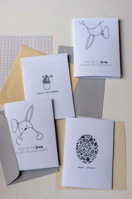 Photo of DIY Osterkarten kostenlose Druckvorlagen Printable zu Ostern DIY