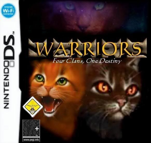 Warriors Cats Into The Wild Movie: Warrior Cat DS Game
