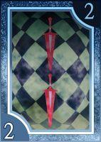 Persona 3/4 Tarot Card Deck HR - Suit of Swords 2 by Enetirnel