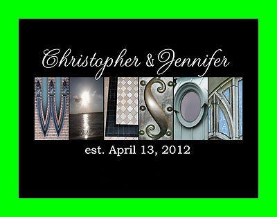 Last Name Art Photo Letters Alphabet Photography Wedding ...