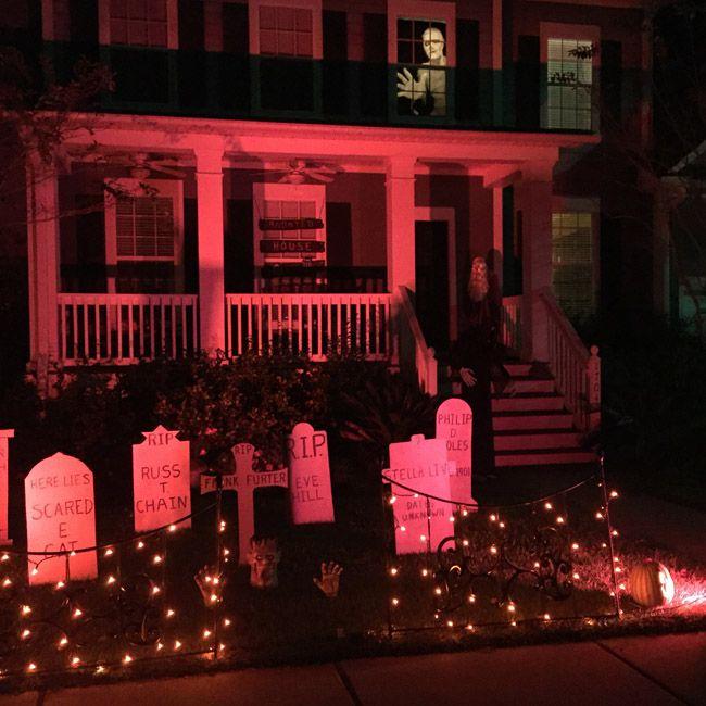 Halloween Deko In Den Usa