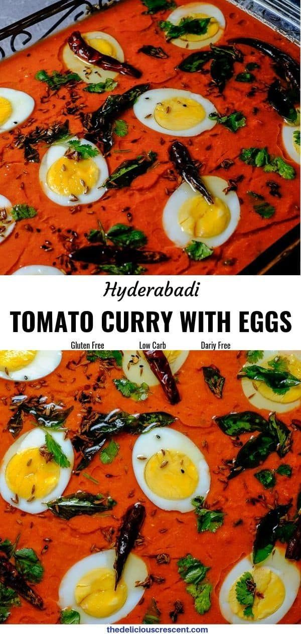 Tomato Curry with Eggs Recipe in 2020 Curry, Appetizer