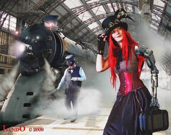 #SteamPUNK ☮k☮ girl  http://steampunk-girl.tumblr.com/