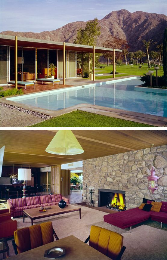 Modern Home Located In Montonate Italy: Cannon House Located Palm Desert, California Was Designed
