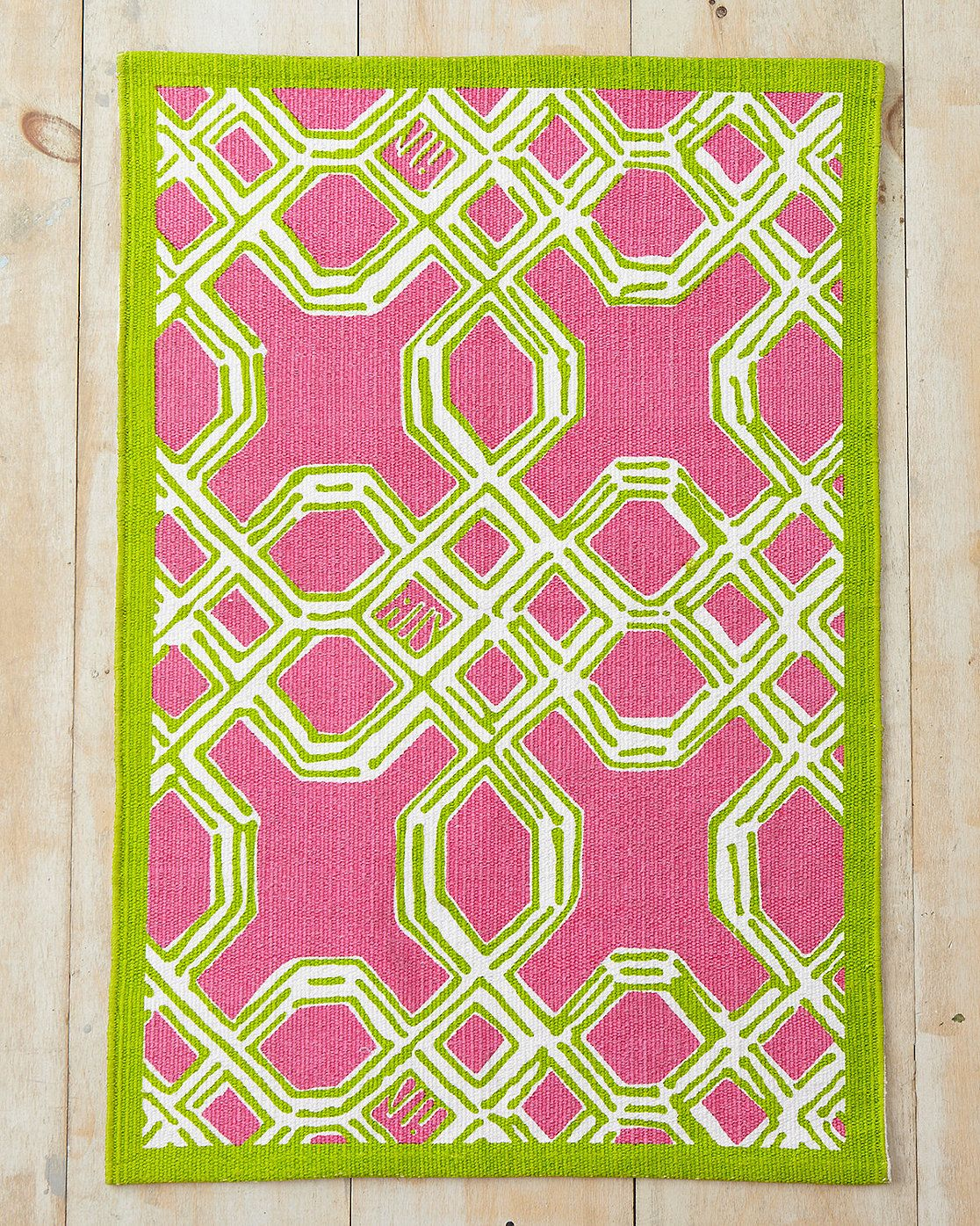 Lilly Pulitzer Well Connected Cotton Rug Garnet Hill