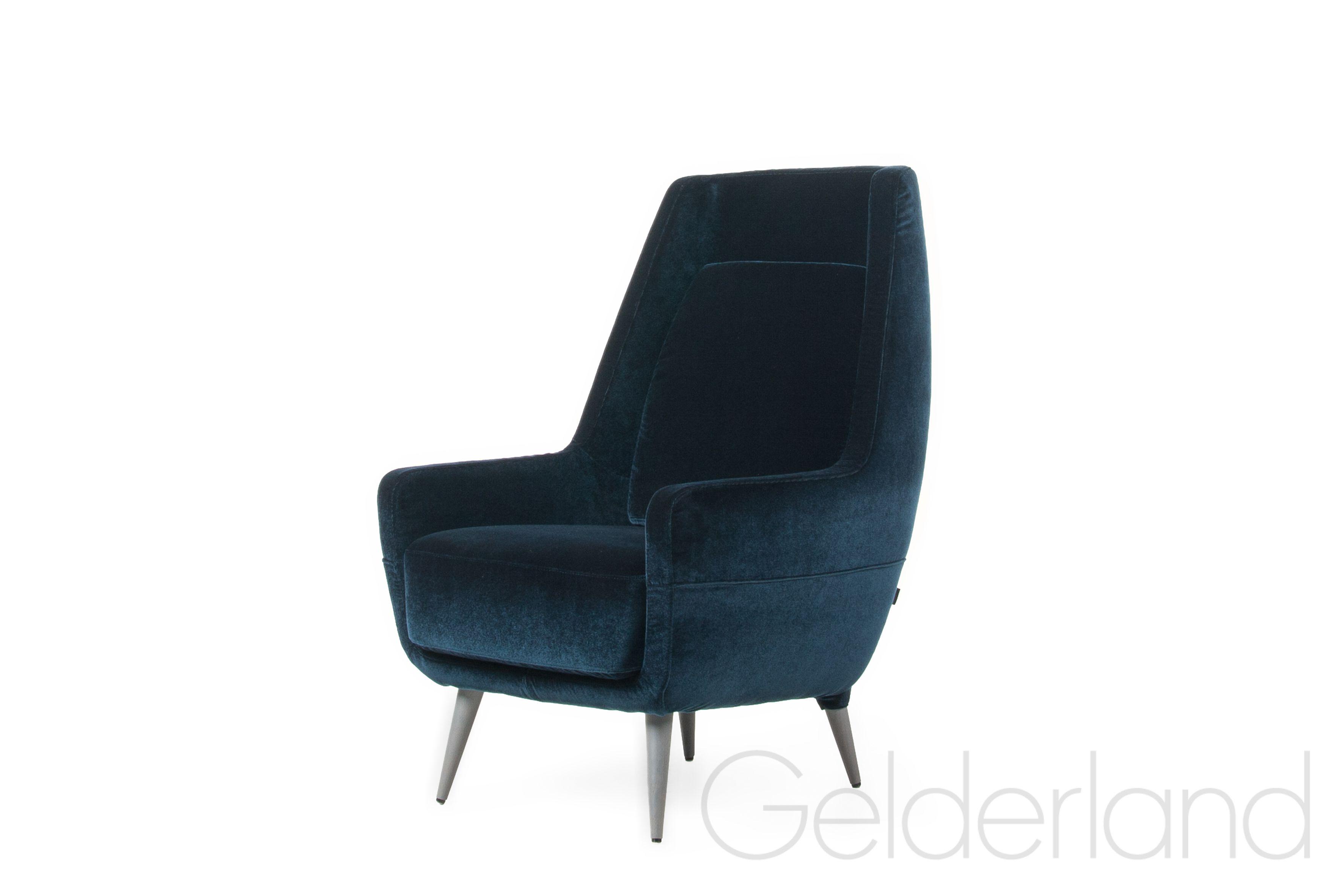 Stoelen Van Gelderland.Gelderland Fauteuil 7860 Tide Chair Design Foklab Velours