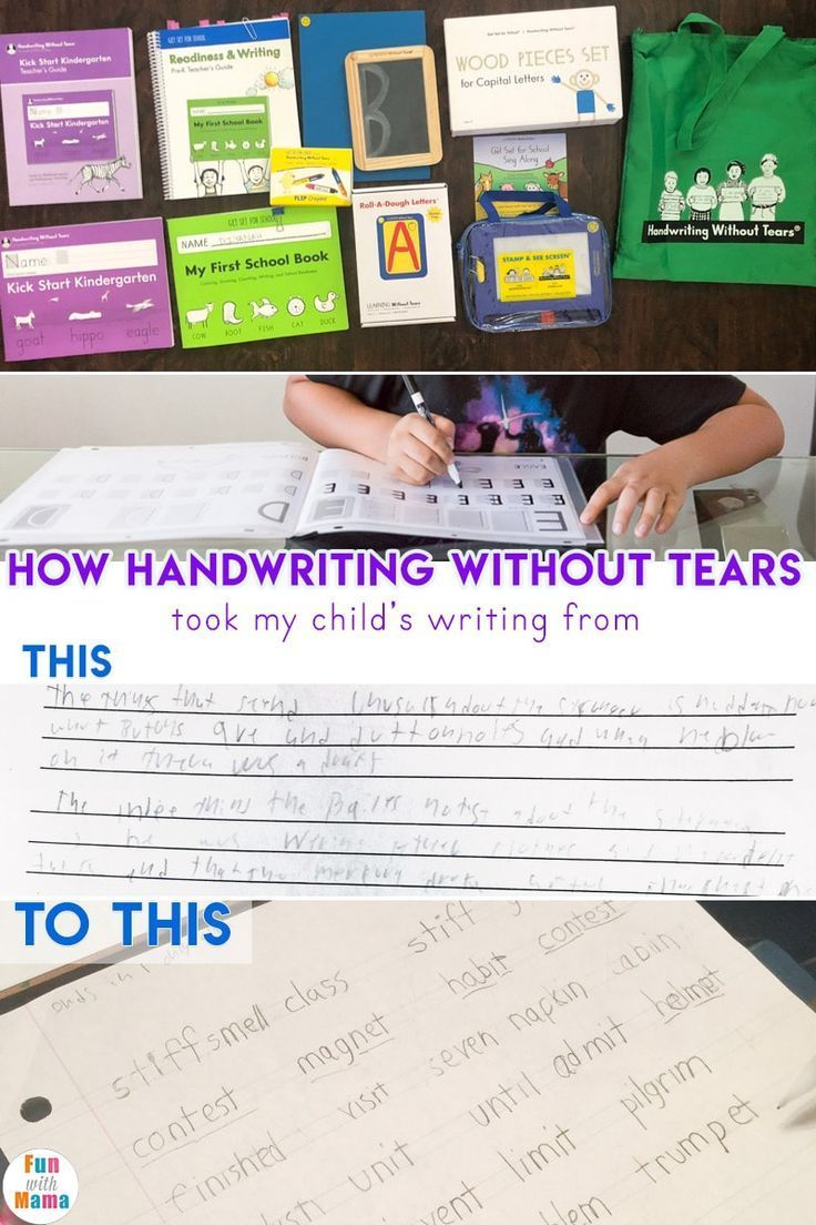Handwriting Without Tears Review + Handwriting