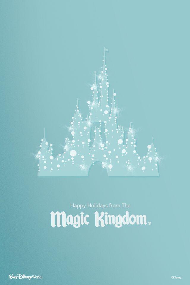 Show Your Smartphones Christmas DisneySide With This Walt Disney World Holiday Wallpaper WaltDisneyWorld