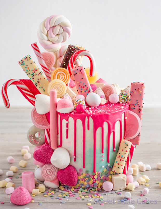 Cake, Sweetie! 19 Epic Candy-Covered Wedding Cakes