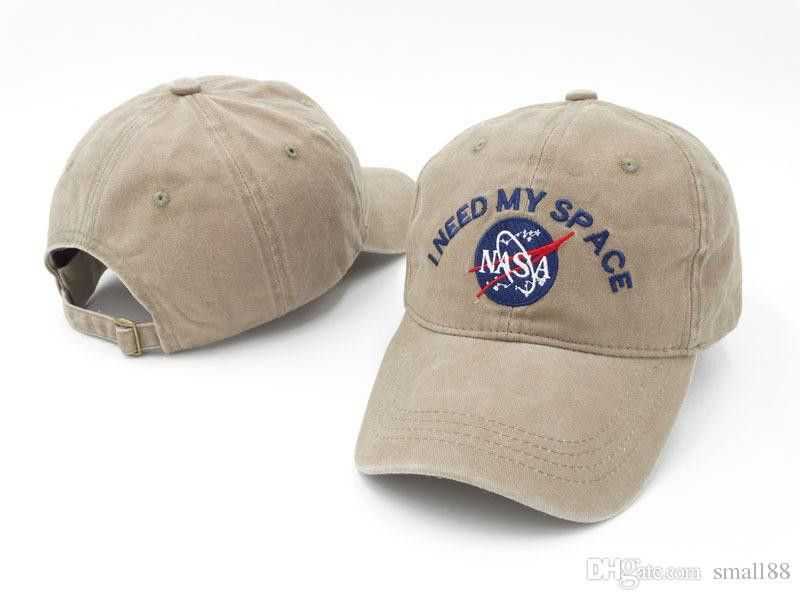 SLEEP FOREVER cap rare I NEED MY SPACE NASA Meat Ball 6 god Embroidered  Cotton dad hat snapback Baseball cap 8 Colors FREE SHIP casquette 3f38ddab03c2