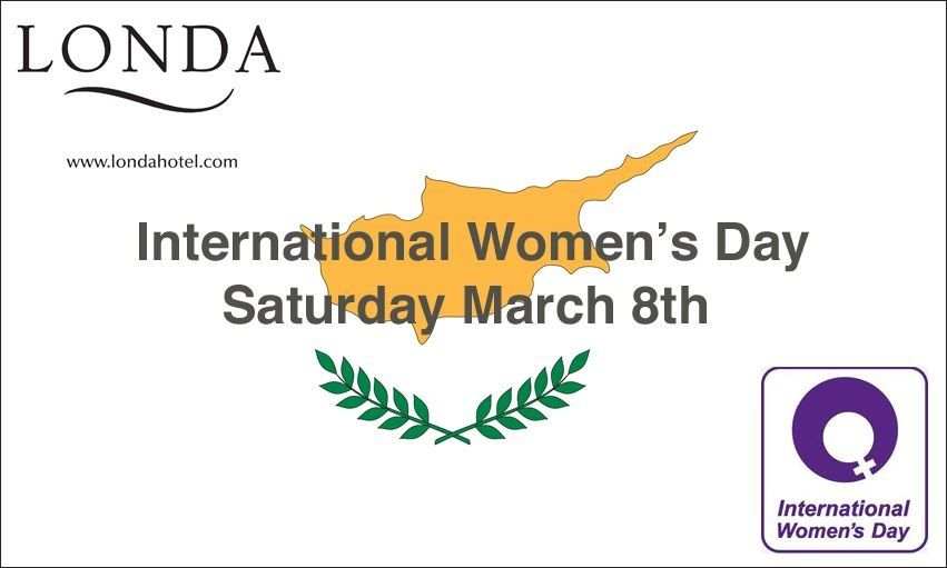 Celebrate this Women's Day in style, as you deserve. #Londa #Hotel #Limassol #Cyprus
