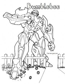 Printable Transformers Bumblebee Coloring Pages Activities Worksheets Coloringpag Transformers Coloring Pages Cartoon Coloring Pages Coloring Pages For Kids