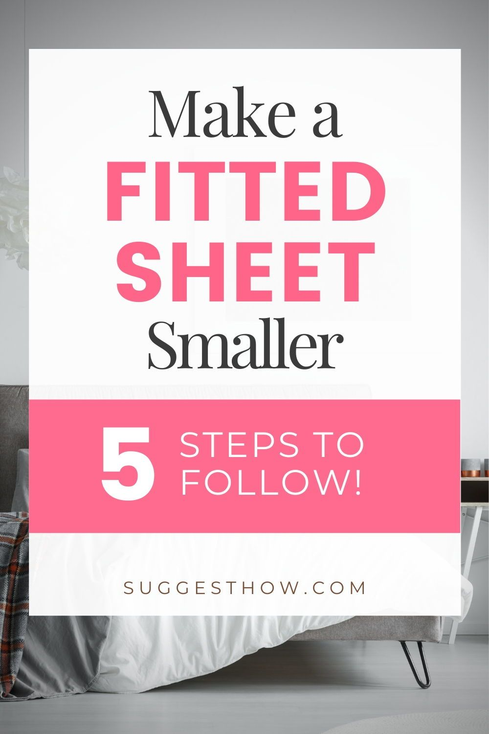 How to Make a Fitted Sheet Smaller & Make it Fit Tight in ...
