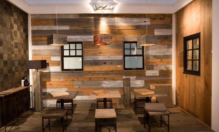 lumi re bois atmosphere bois concr te projets room table et conference room. Black Bedroom Furniture Sets. Home Design Ideas
