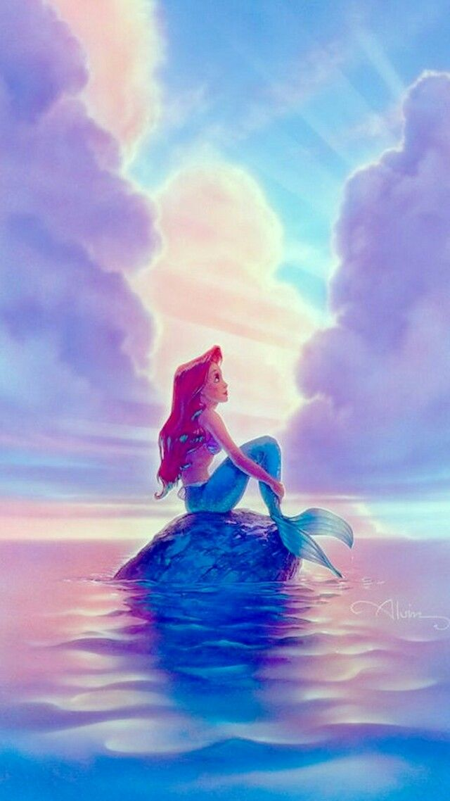 Mermaid Ariel Sereia Wallpaper