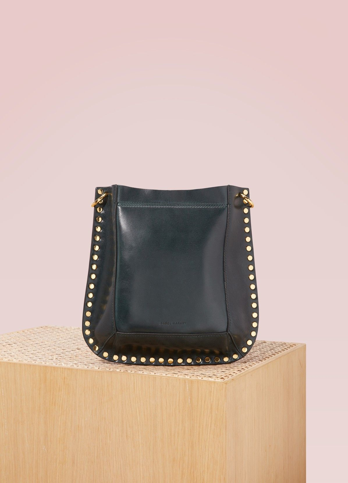 f990da72294 ISABEL MARANT Oskan leather shoulder bag Sac Porté Épaule