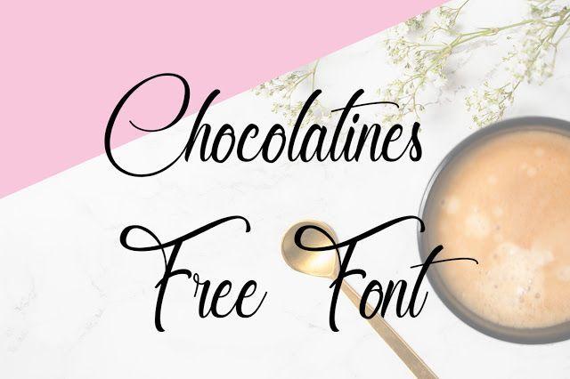 DLOLLEYS HELP: Chocolatines Free Font