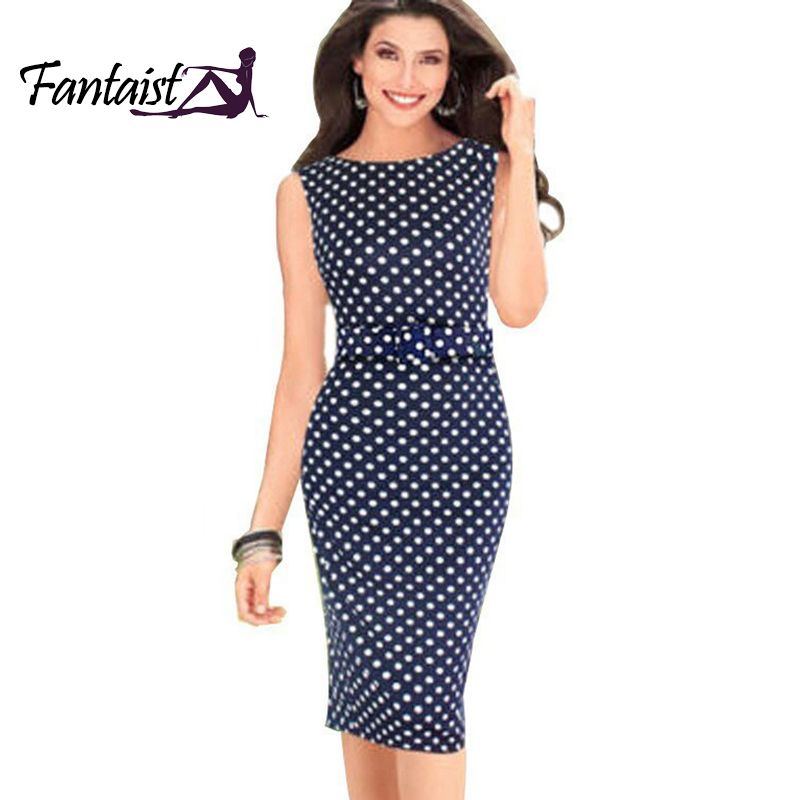 Find More Dresses Information about New Fashion 2014 Summer Women  Sleeveless Knee…