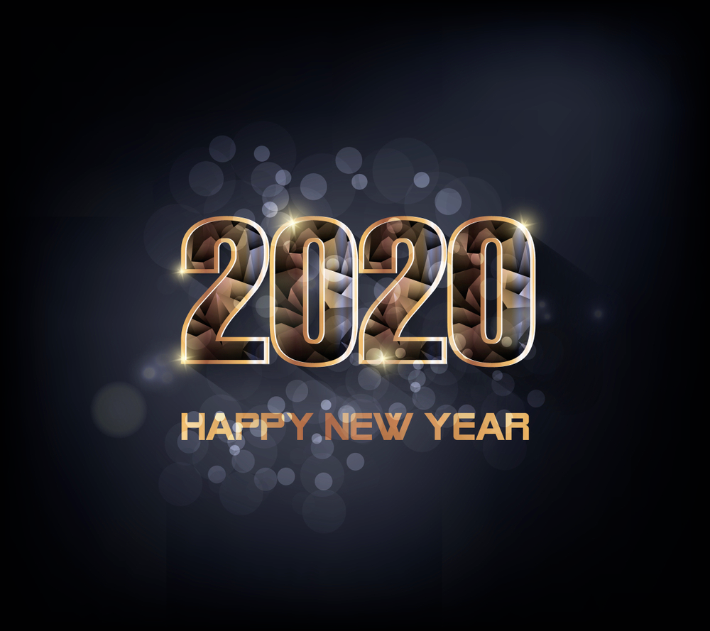 Gelukkig Nieuwjaar 2020 Afbeeldingen  Nieuwjaarswensen  HappyNewYear2020