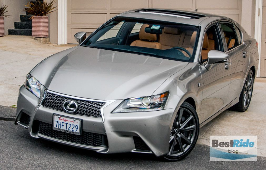 2015 Lexus GS350 F Sport in Atomic Silver with Flaxen