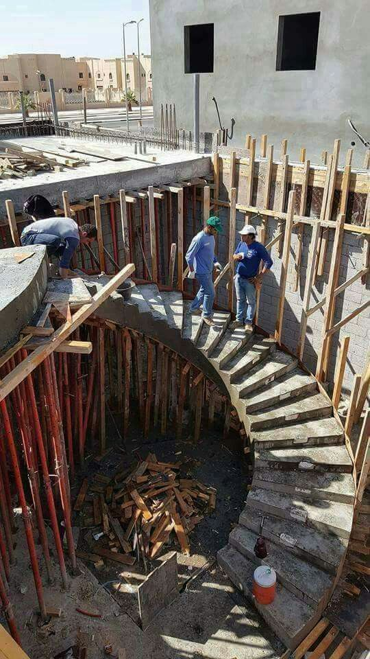 Pin de mm han solmaz en merdiven pinterest escalera for Como hacer escaleras de caracol de concreto