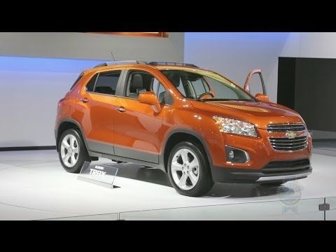 2015 Chevrolet Trax 2014 New York Auto Show With Images