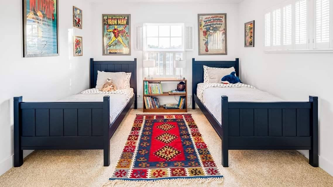 Wood Farmhouse Bed Platform bed Rustic Wood Queen Twin You Pick The Color  Finish Distressed by Foo Foo La La. Full King