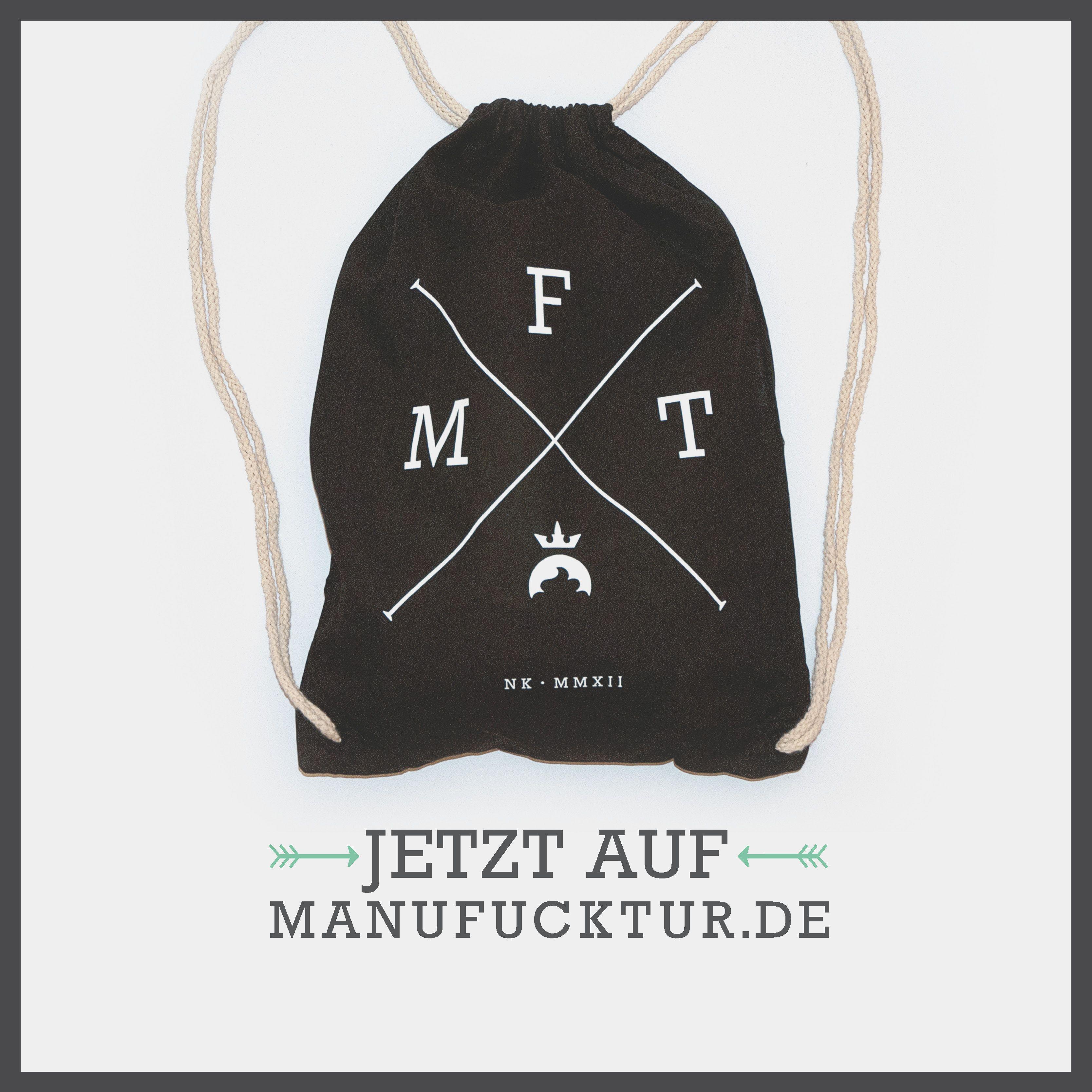 Der X Turnbeutel ist da!   --> www.manufucktur.de