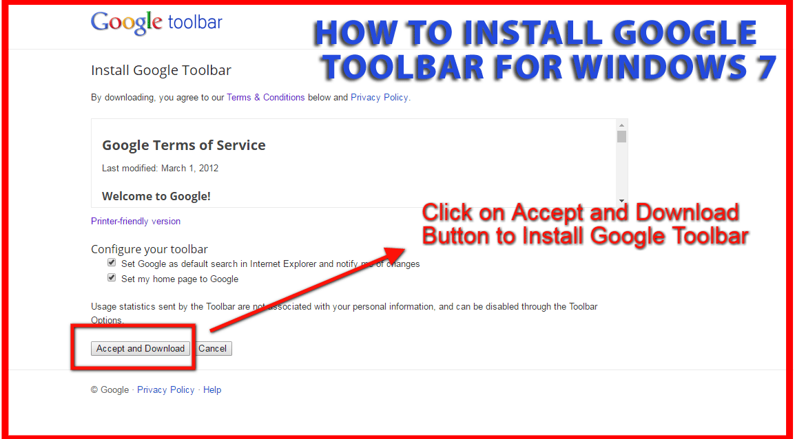 toolbar for google chrome download