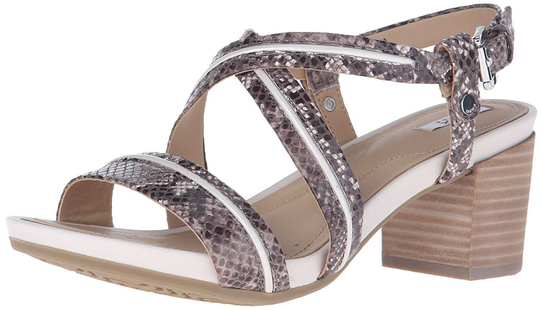 Geox Women's D Symi Heeled Sandal * To view further, visit now : Block heel sandals