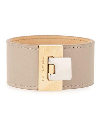 Balenciaga Le Dix Bracelet in Gray UvaJiKeQKr