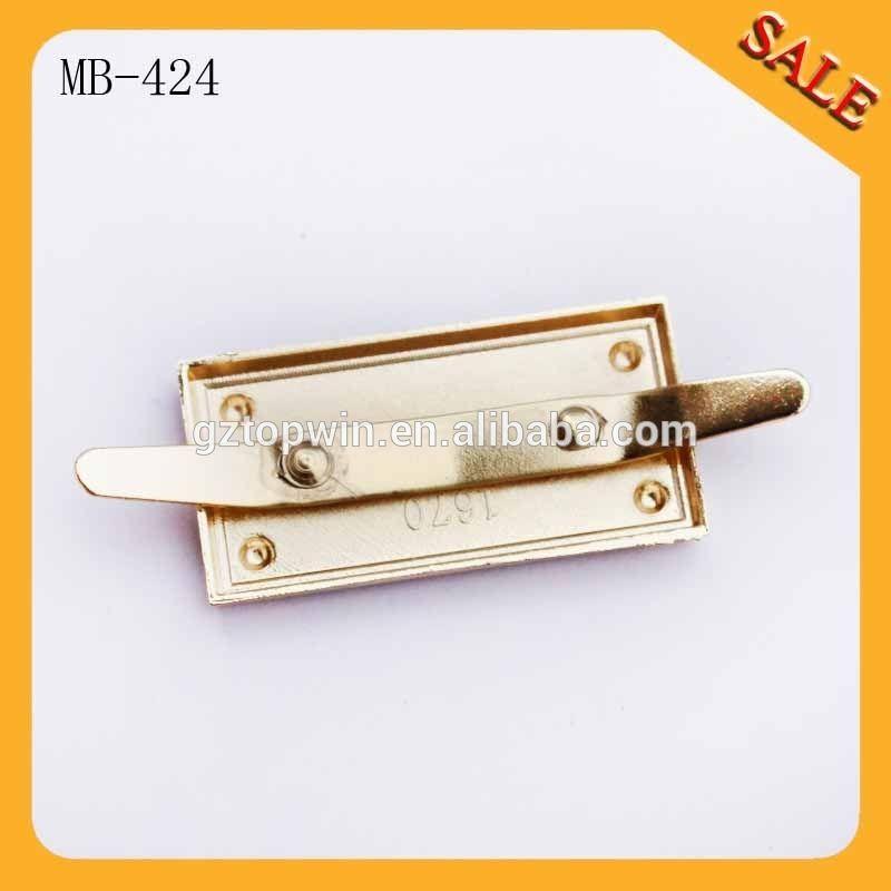 Mb424 Custom Bag Hardware Metal Tag Logo Label Plate For Handbag Find Complete