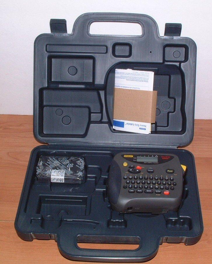 Stanley Heavy Duty Labeler Label Maker ST-1150 w/ Case  2 Label