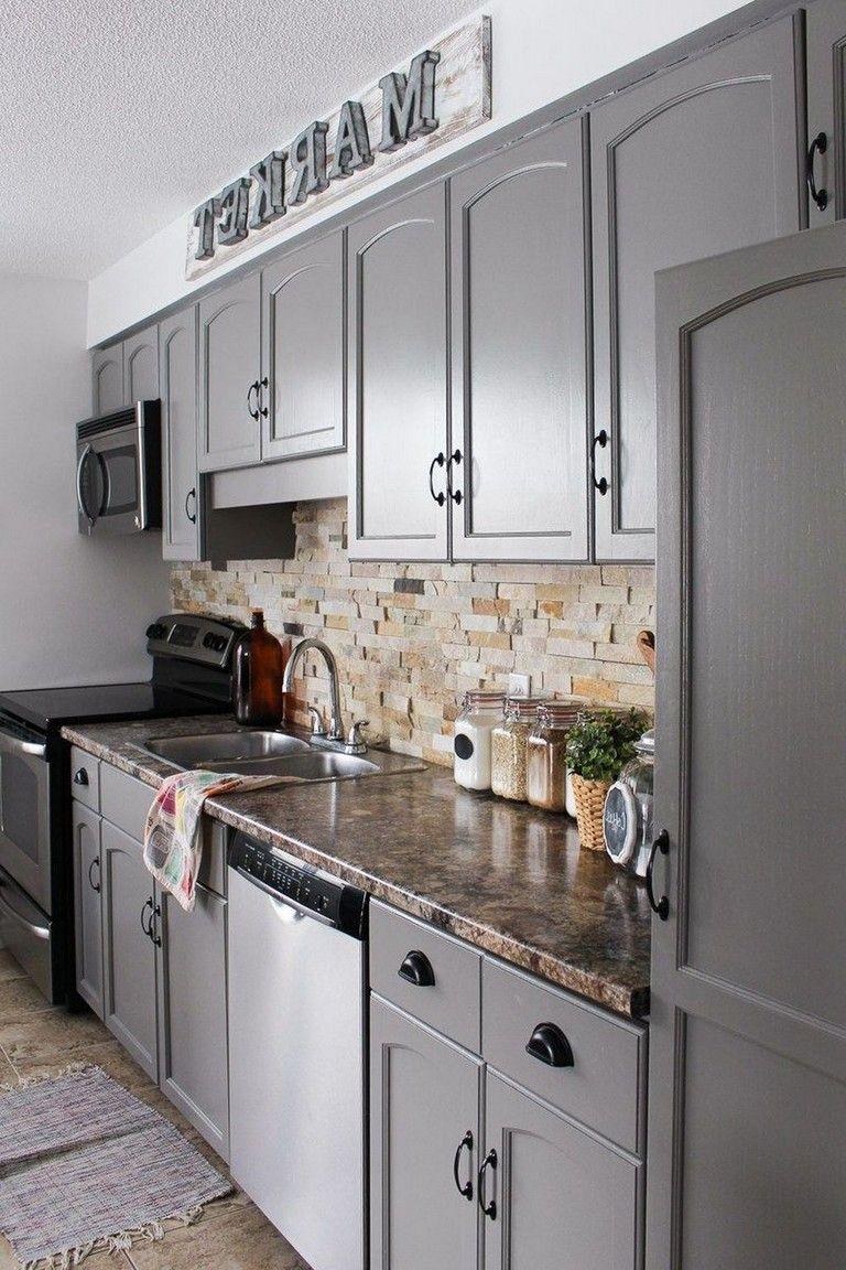25 Top Kitchen Cabinets Makeover Ideas Kitchen Remodel Small Kitchen Remodel Installing Kitchen Countertops