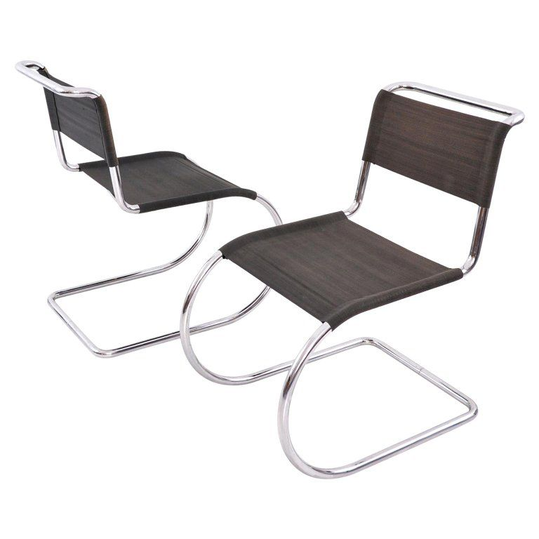 Surprising Ludwig Mies Van Der Rohe Weissenhof Mr 10 Mr 533 Chairs Creativecarmelina Interior Chair Design Creativecarmelinacom