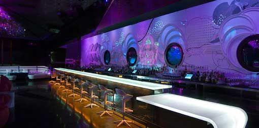 Revolution Lounge Las Vegas Bar Lighting By